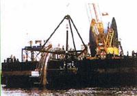 取水管(一本管)敷設船B